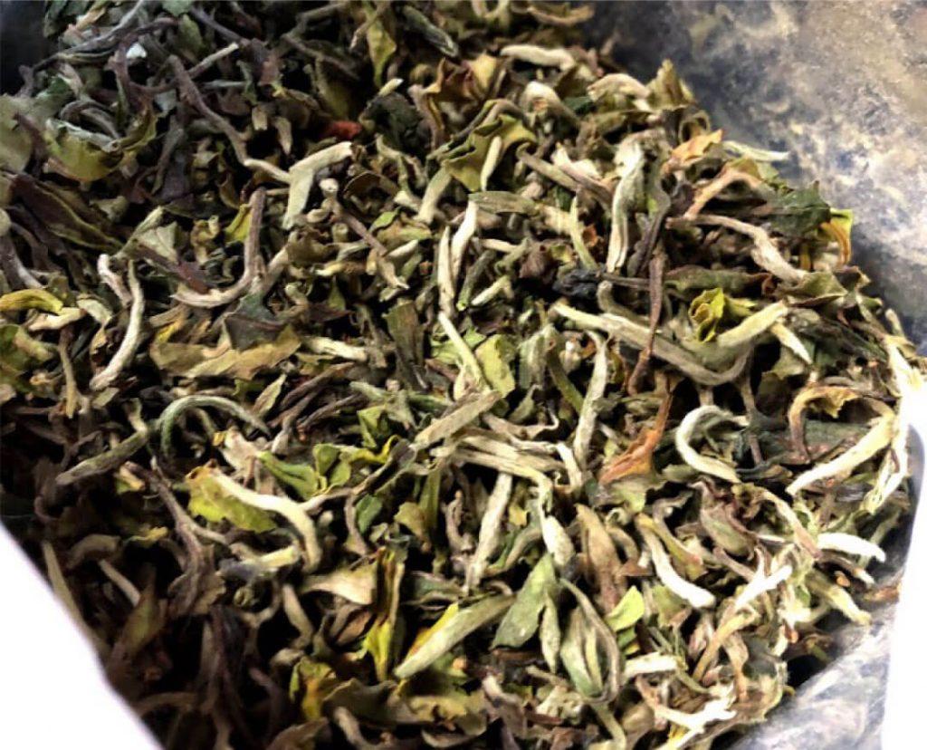 ダージリンファーストフラッシュ茶葉の写真