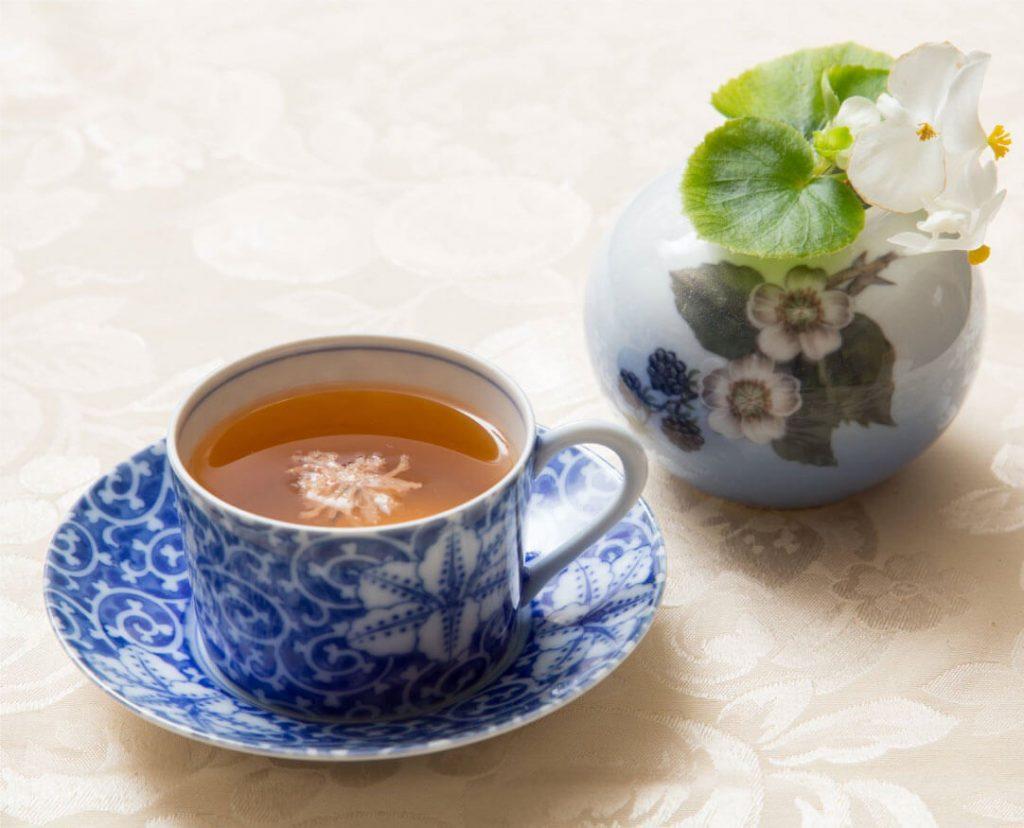 桜ダージリン紅茶の写真